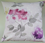 "16"" Cushion Cover in Next Kids Purple Floral Print"